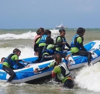 Kids Chat Botté - Beach Camp